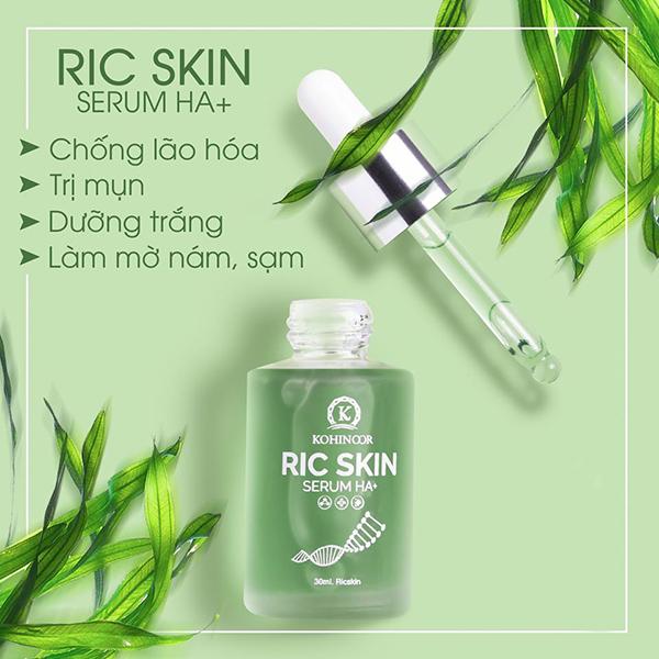 Serum Ric Skin HA+ Kohinoor Sựu lụa chọn hoàn hảo.