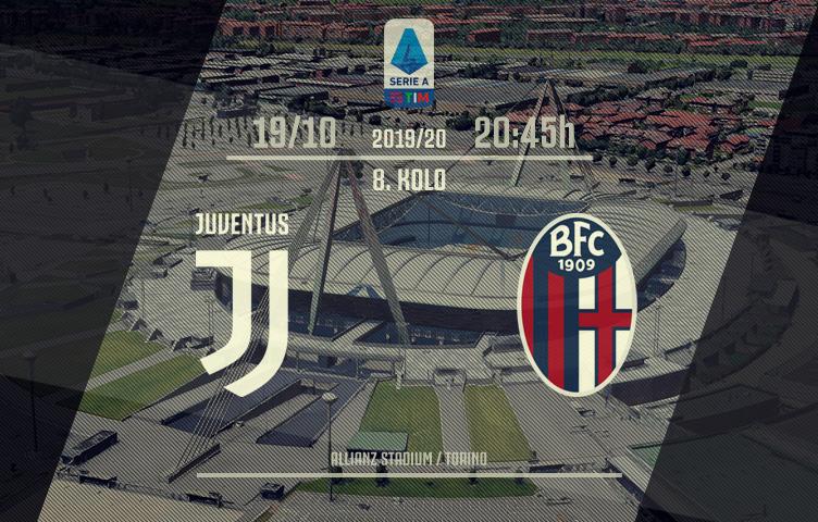 Serie A 2019/20 / 8. kolo / Juventus - Bologna, subota, 20:45h