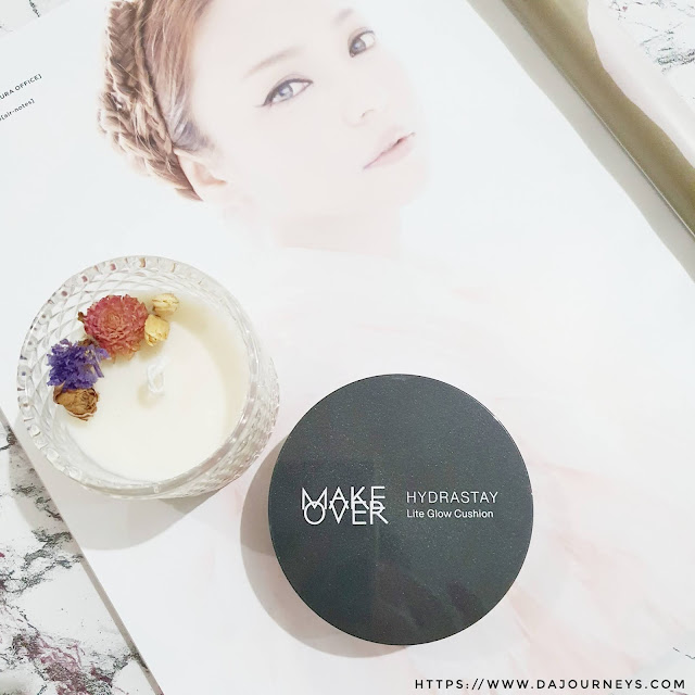 Review Make Over Hydrastay Lite Glow Cushion