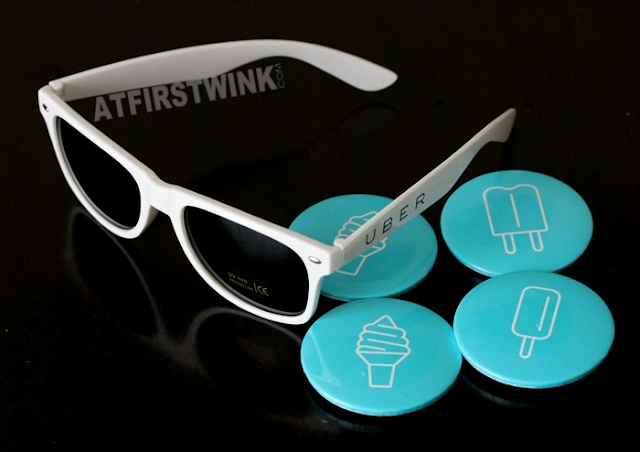 #Ubericecream Netherlands 2015 sunglasses and buttons
