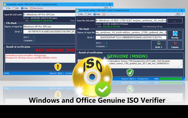 Windows and Office Genuine ISO Verifier v.8.5.9.9