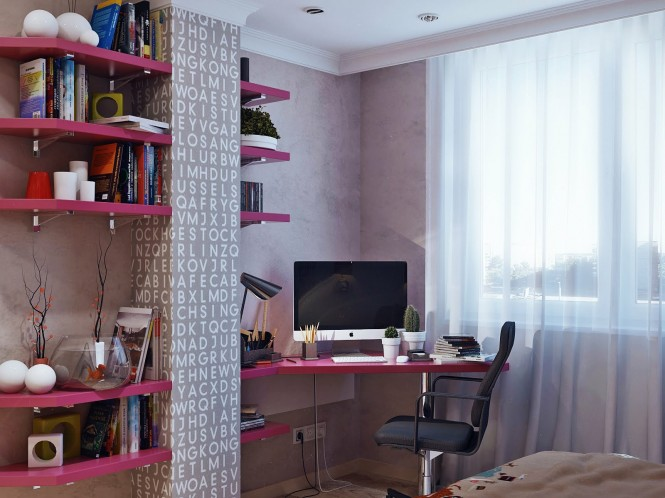 Hogares frescos dise os de habitaciones para j venes for Diseno de habitaciones para adolescentes