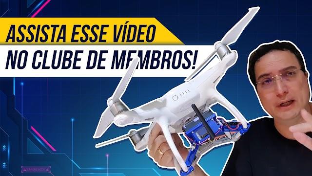 A melhor história de todos os tempos e o meu Drone DJI com ESP32