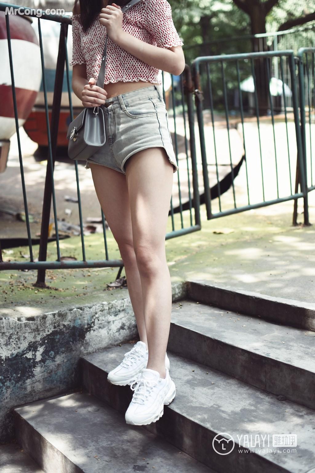 Image YALAYI-No.006-MrCong.com-003 in post YALAYI No.006: 叶肖肖 (62 ảnh)
