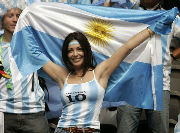 Olympic Games Rio 2016: sexy hot girls, fans, athletes, beautiful woman supporter of the world. Pretty amateur girls, pics and photos. Brazil 2016. Argentina
