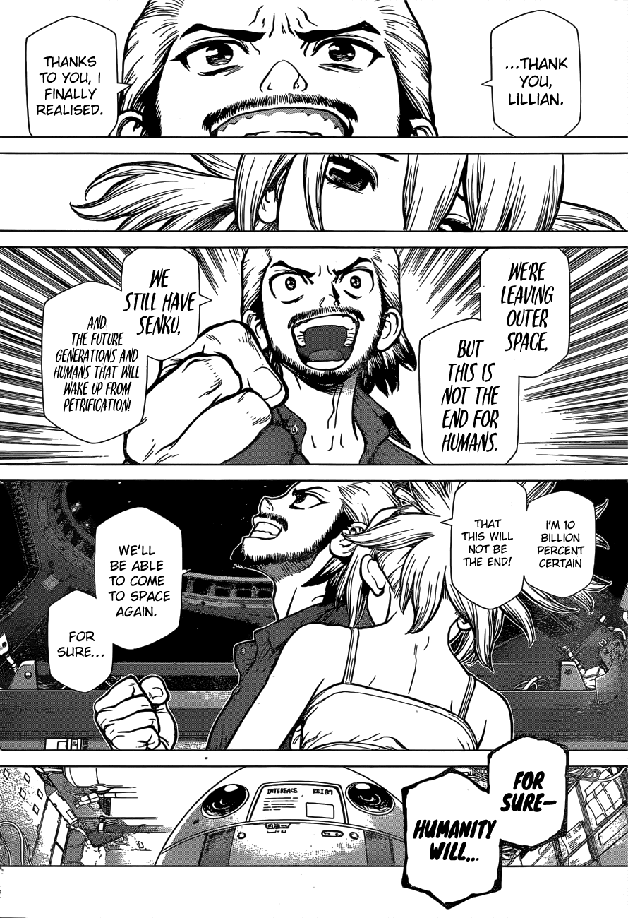 Dr.Stone reboot: Byakuya 3-ENG-[ENG] The Universe is Ours