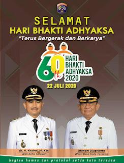 Pemerintah Kota Tarakan Mengucapkan Selamat Hari Bhakti Adhyaksa Ke-60 Tahun - Tarakan Info
