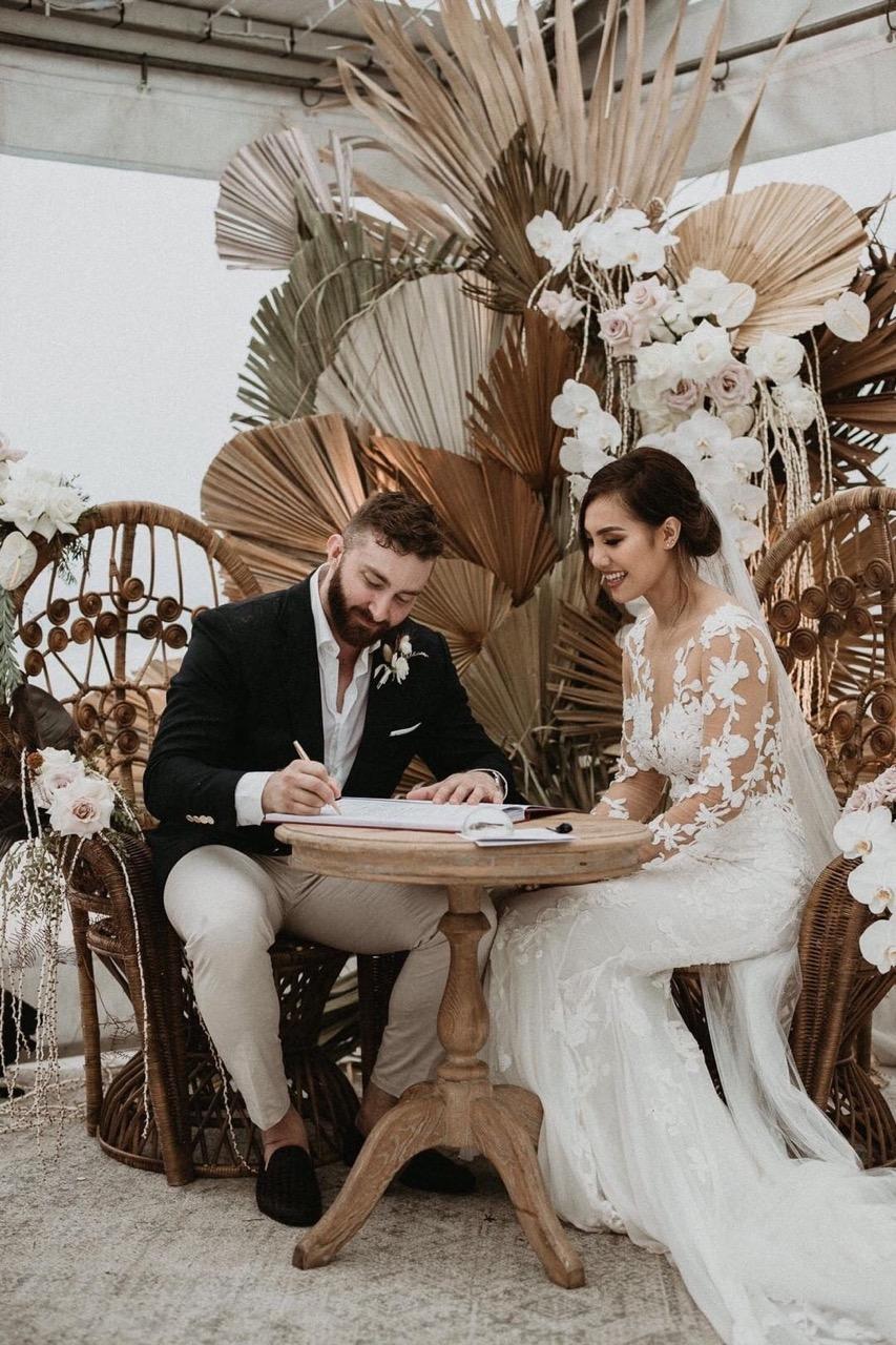 lucas and co photography byron bay wedding arbour floral designer wedding planner brisbane