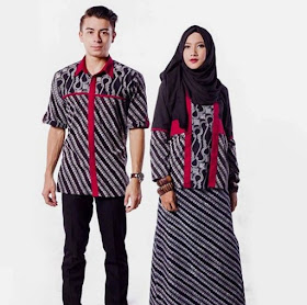 Model Batik Sarimbit Couple Terbaru 2019
