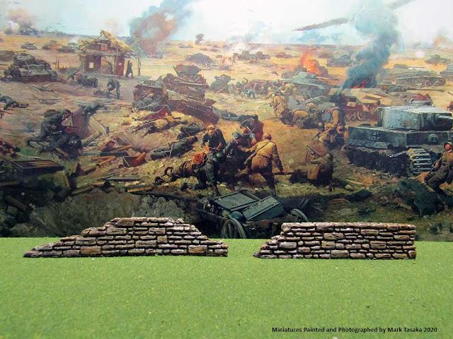 World at War Gaming Resin Stone Walls