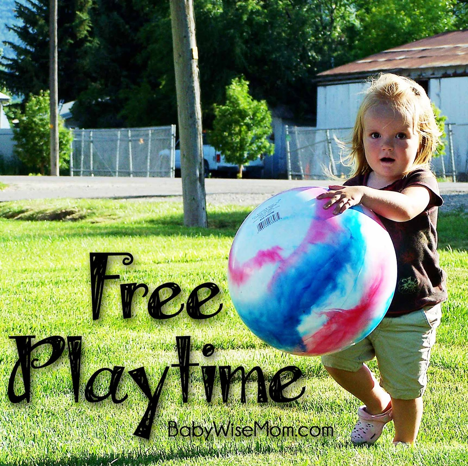 How To Use Free Playtime In Your Child's Schedule