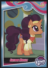 My Little Pony Saffron Masala Series 4 Trading Card