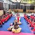 योग शिविर में छात्र-छात्राओं ने किया योगासन