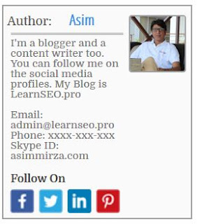 author widget blogger 4