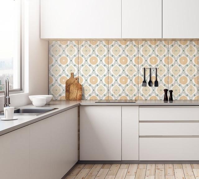 Desain Keramik Dinding Dapur Minimalis Terbaru