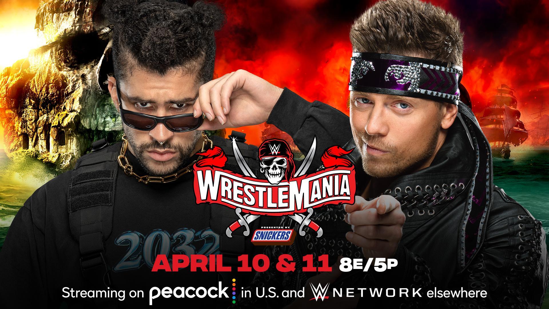 Bad Bunny tem seu adversário anunciado para a WrestleMania 37