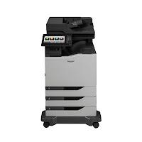 Sharp MX-C607F Driver Printer