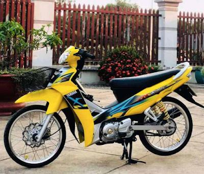 Modifikasi Motor Vega R Ceper