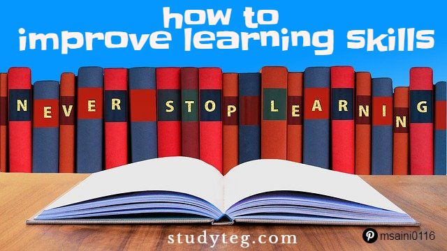 how to improve learning skills