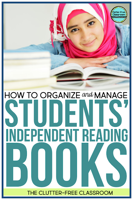 Just right books, self-selected reading, read to self, individualized daily reading (IDR), readers workshop, reading centers, literacy centers... All are a similar idea! How can we organize and manage students' independent reading books? I have the simple solution here.