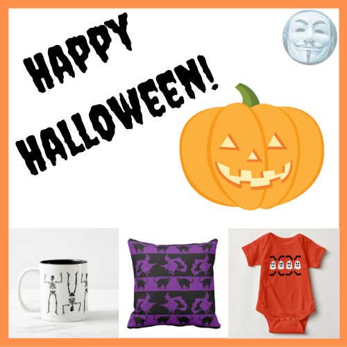 Happy Halloween from On My Kindle BR and Mindful Humanism