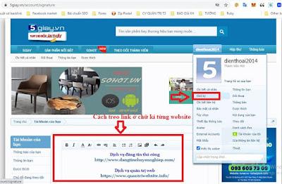 Đăng tin SEO Backlink - Bổ trợ cho seo web