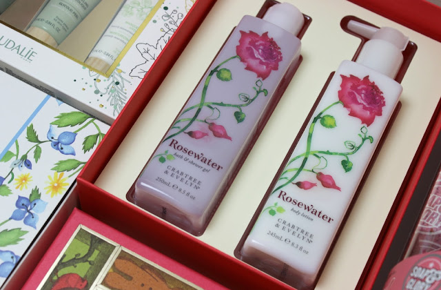 A picture of Crabtree & Evelyn Rosewater Bath & Body Duo