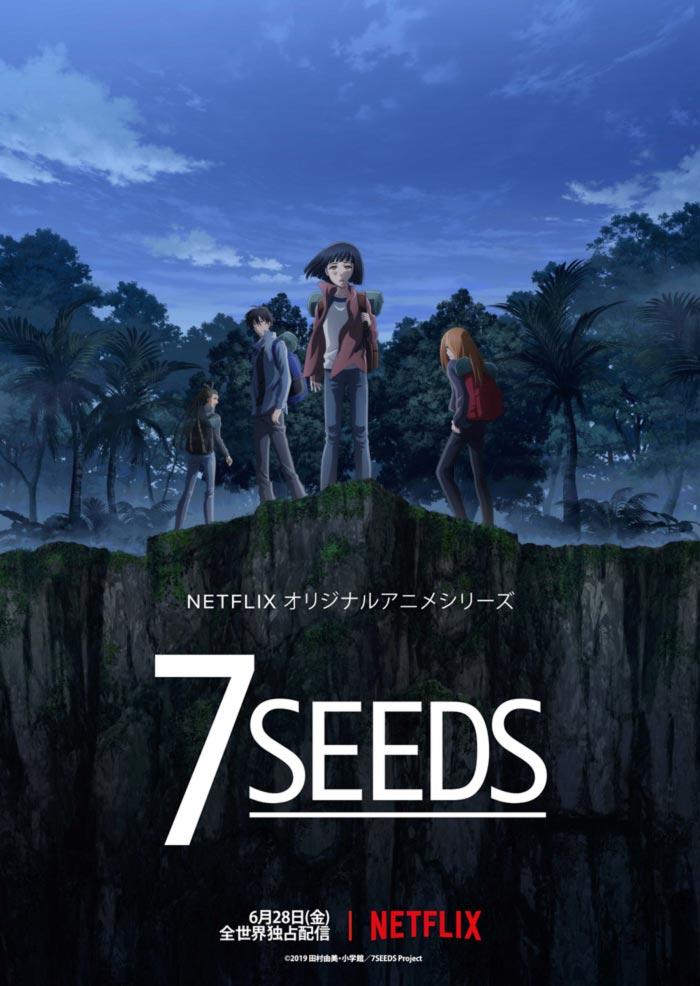 7 Seeds anime - Netflix