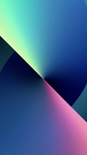 Download Wallpaper iphone 13 blue