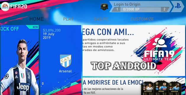 FIFA 20 Mobile Android Offline 700 MB New Kits,Squad Best