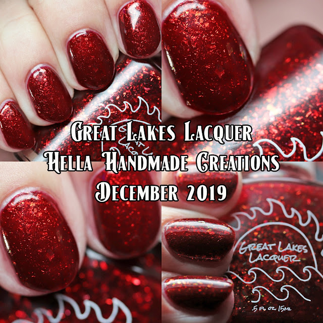 Great Lakes Lacquer Hella Handmade Creations December 2019