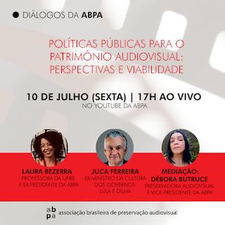 [ABPA] LIVE 🔴 : Diálogos da ABPA - Políticas públicas para o patrimônio audiovisual: perspectivas e viabilidade