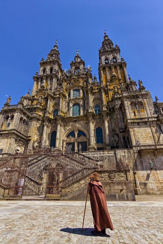 Road Santiago De Compostela