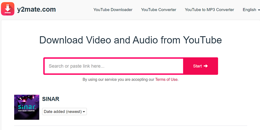 Download Video Dari Youtube Guna y2mate, nak download video guna apa, youtube downloader, y2mate downloader,