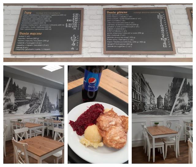 Onde comer bem e barato na Polônia - Milkbar Stagiewna em Gdansk
