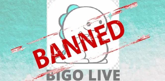 لماذا تم حظر بيغو لايف الخاص بي؟