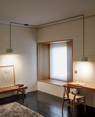 Lamparas Minimalista Vibia Diseñada por el Japones Ichiro Iwasaki