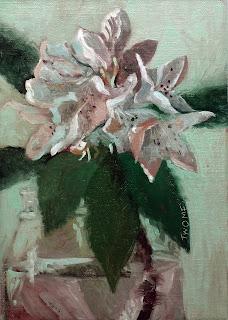 """Rhododendron Portrait"""