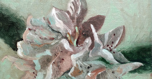 """Rhododendron Portrait"" Auction Starting Today"