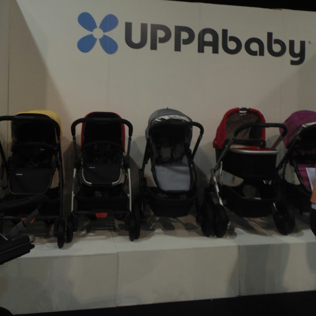 Uppababy at the baby and toddler show