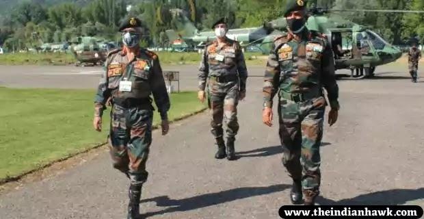 India-Pak Ceasefire 2021: COAS Gen Naravane Reviews Security Situation in Kashmir