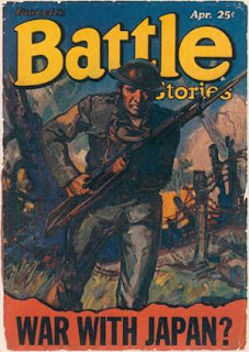 Battle Stories April 1932 issue