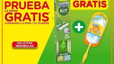 Consigue un kit de mopa Swiffer gratis y sin sorteos