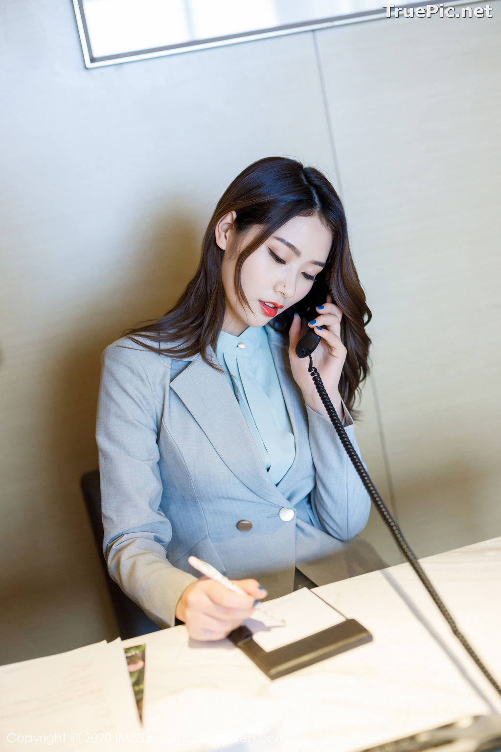 Image IMISS Vol.466 - Chinese Model - Fang Zi Xuan (方子萱) - Sexy Office Girl - TruePic.net - Picture-9