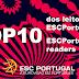 [VÍDEO] ESC2017: Conheça o TOP10 dos leitores do ESCPORTUGAL