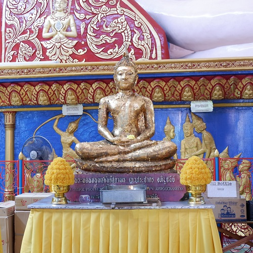 Patung Buddha Tidur Wat Chayamangkalaram