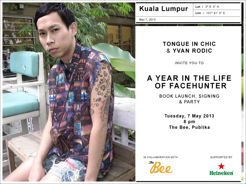 Newsflash: The Face Hunter in KL!