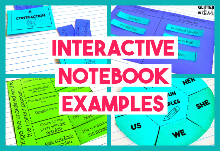 interactive notebook templates blog title picture