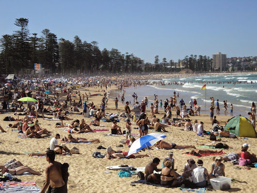 Saturday Beach: Manly