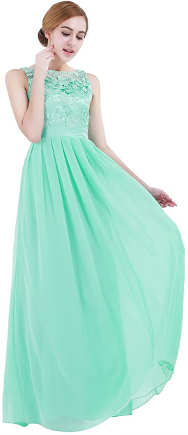 Long Floor Length Chiffon Bridesmaid Dresses